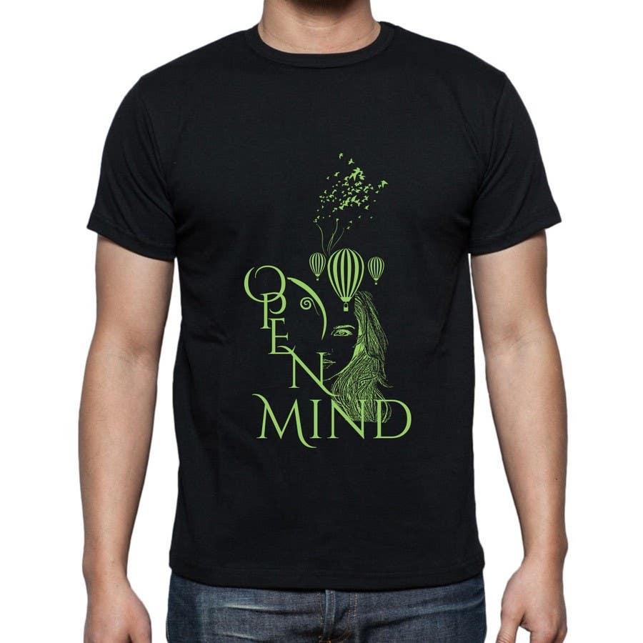 Bài tham dự cuộc thi #60 cho Design a T-Shirt related to the Keywords: Meditation, Calmness, Freedom, Open Mindedness