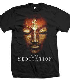 #39 untuk Design a T-Shirt related to the Keywords: Meditation, Calmness, Freedom, Open Mindedness oleh lavdas215
