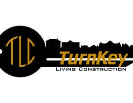 #38 untuk Design a Logo for Turnkey Living Constructions (TLC) oleh CrazyStagGraphic
