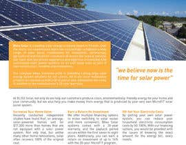 #2 cho Design a Brochure for Solar Panel Company bởi pearl1803