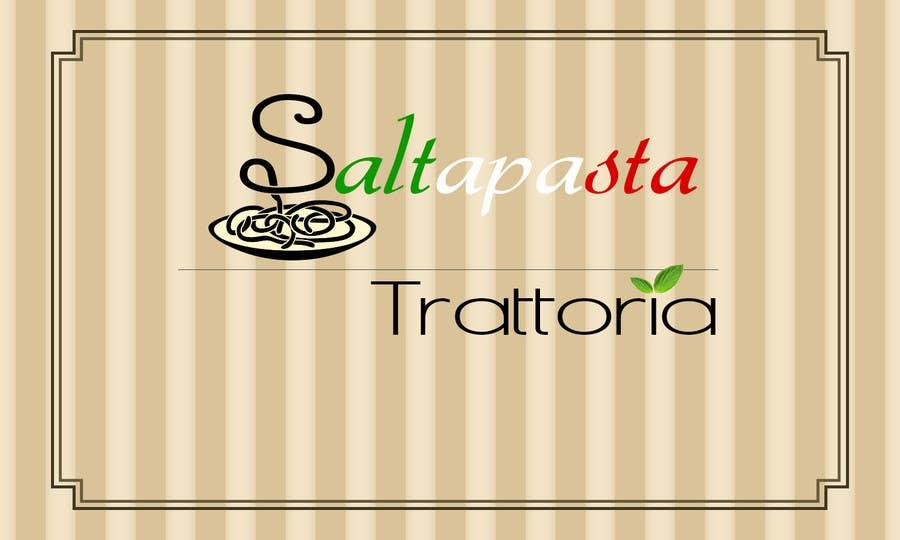 Konkurrenceindlæg #33 for Design a Logo for Saltapasta