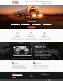 #9 for Design a Website Mockup for A Vehicle Dealership af kreativeminds
