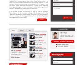 #11 for Design a Website Mockup for A Vehicle Dealership af suranjan89