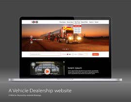#19 untuk Design a Website Mockup for A Vehicle Dealership oleh manojkaninwal