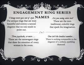 meggievickers tarafından Creative Product Series Name - Engagement Rings için no 53