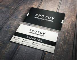 #34 cho Design some Spot UV Business Cards for an online print company bởi Fgny85