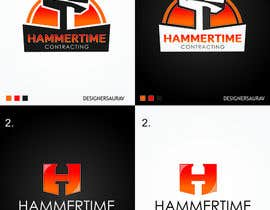 #5 for Design a Logo for Hammertime Contracting af sauravsingh