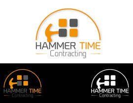 #25 para Design a Logo for Hammertime Contracting por farhanzaidisyed