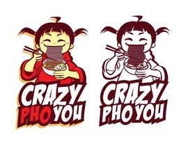 #20 for Design a Logo for Crazy Pho You by rhouvin