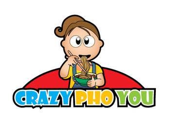 #18 untuk Design a Logo for Crazy Pho You oleh mogado