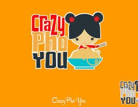#43 for Design a Logo for Crazy Pho You by shantallrueda