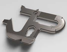 #15 cho Simple Project - Do some 3D Modelling for a one piece steel multitool bởi CognisantDesign