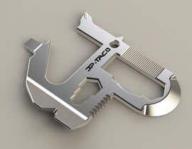 #20 untuk Simple Project - Do some 3D Modelling for a one piece steel multitool oleh CognisantDesign