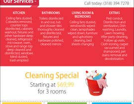 #1 cho flyers for ruston cleaning services bởi daniellemerie8