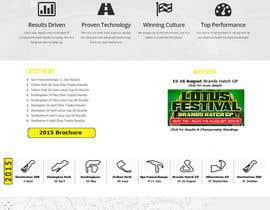 #4 untuk Design a Website for Car Racing Team oleh PeterVarga2