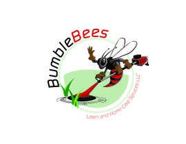 zackleo tarafından Design a Logo for Bumblebees Lawn & Home Care Services LLC için no 82