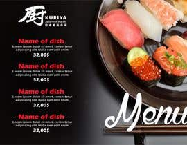 designciumas tarafından I need some Graphic Design for high end Japanese Restaurant Menu için no 9
