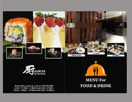#6 cho I need some Graphic Design for high end Japanese Restaurant Menu bởi Shrey0017