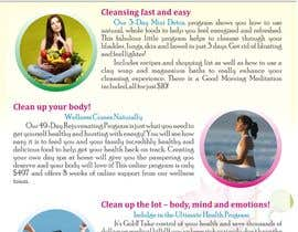 #8 untuk Design a Flyer for our wellness programs oleh joe33143