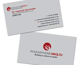#28 for Design a letterhead and business cards for a health consulting company by teAmGrafic