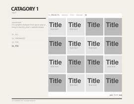 #12 for Design my portfolio page af Saadyarkhalid