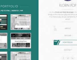 #10 for Design my portfolio page af bhishma03