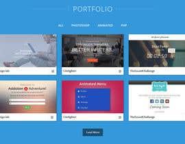 #18 for Design my portfolio page af arpit9009