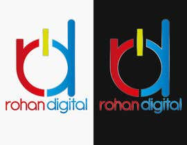 #233 for Design a Logo for a company - Rohan Digital by DigiMonkey