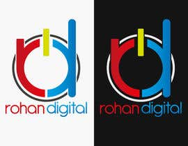 #234 for Design a Logo for a company - Rohan Digital by DigiMonkey