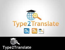 #9 untuk Design a Logo for www.type2translate.com oleh logodancer