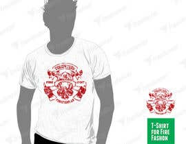 #56 untuk Design a T-Shirt for FireFashion (firefighter theme) oleh avtoringUK