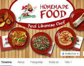 #9 cho Cover photo for Facebook - Lebanese Food Restaurant bởi Atletikos