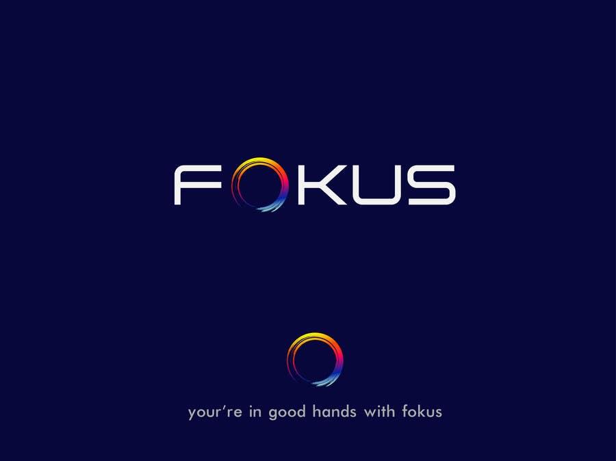 Penyertaan Peraduan #17 untuk Fokus Logo for our re-brand.