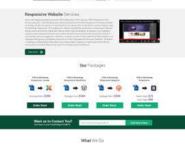 #6 for Redesign of Website 2 Pages. Attractive eye catch layouts required af omwebdeveloper