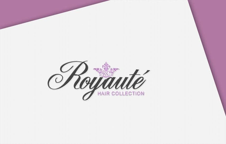 Penyertaan Peraduan #21 untuk Design a Logo for Royaute Hair Collection