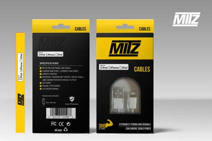 #11 untuk Create Packaging Designs for iPhone Cable oleh chubbycreations