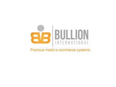Nro 33 kilpailuun Design Bullionint.com's logo käyttäjältä rraja14