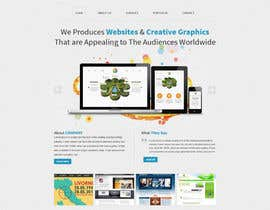 tania06 tarafından Design a Website Mockup for a Web-Design Agency için no 14