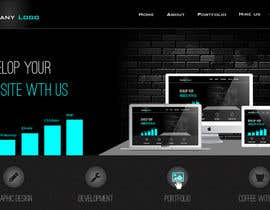 #19 untuk Design a Website Mockup for a Web-Design Agency oleh jeransl