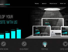 jeransl tarafından Design a Website Mockup for a Web-Design Agency için no 27