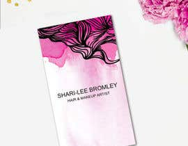 CameliaDesigns tarafından Design some Business Cards for Hair & Makeup Artist için no 74