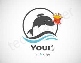 #20 untuk Design a Logo for me Youi's Fish N Chips oleh nra55a100210a8e7