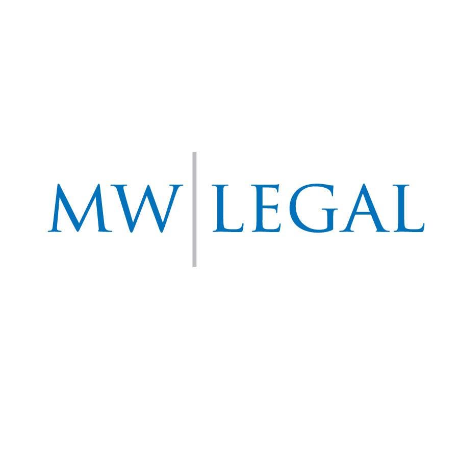 Konkurrenceindlæg #81 for Design a Logo for MW-Legal! (Simple)