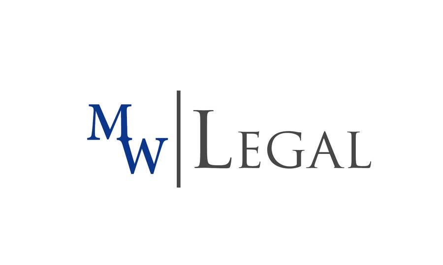 Konkurrenceindlæg #210 for Design a Logo for MW-Legal! (Simple)