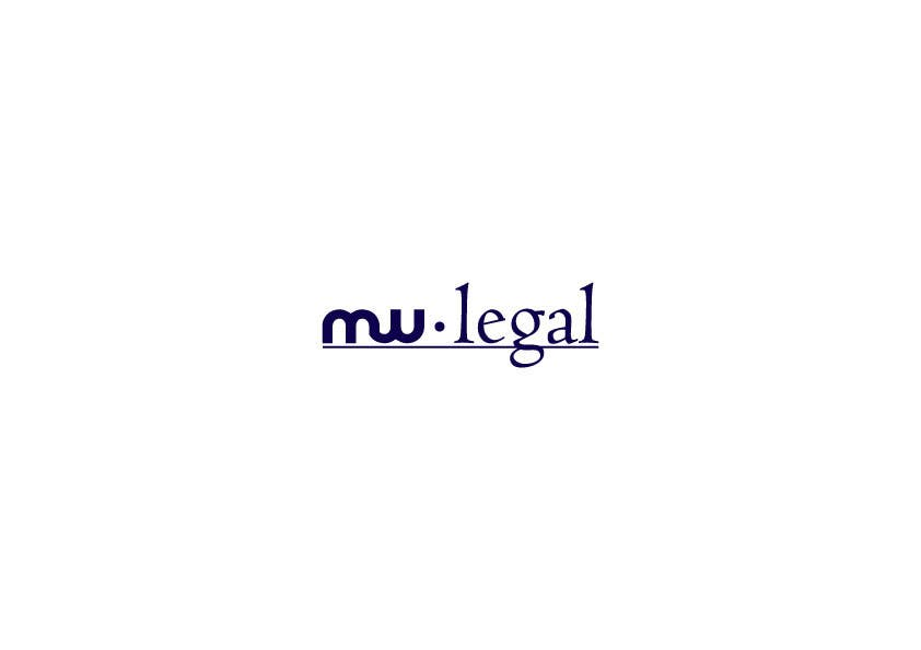 Konkurrenceindlæg #69 for Design a Logo for MW-Legal! (Simple)