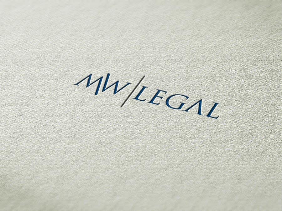 Konkurrenceindlæg #131 for Design a Logo for MW-Legal! (Simple)