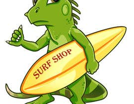 #7 for Illustrate a pet to a surf shop af LucJaya