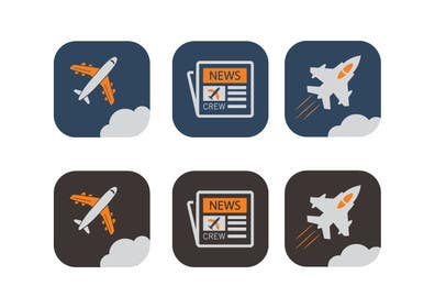 #4 untuk Create icons for website oleh khadkamahesh07