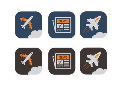 khadkamahesh07 tarafından Create icons for website için no 4
