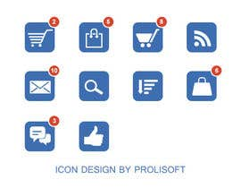 ProliSoft tarafından Design 8 simple and clean icons for web - flat style için no 2